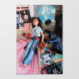 My So-Called Diet: Thinspiration, 1994 Canvas Print