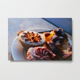 Desserts in the evening Metal Print