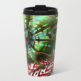 Striped Kuma Beast Travel Mug