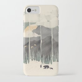 Spring Mountain Weather iPhone Case