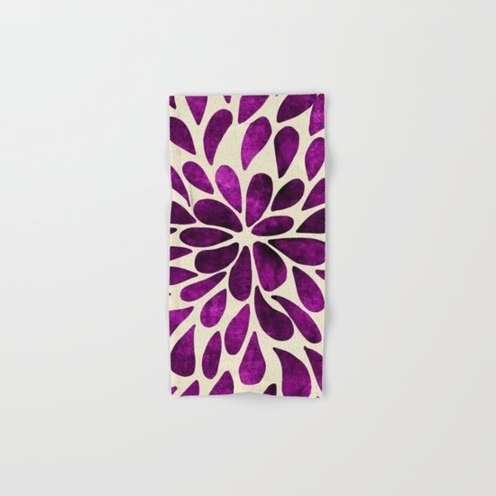 Petal Burst #21 Hand & Bath Towel