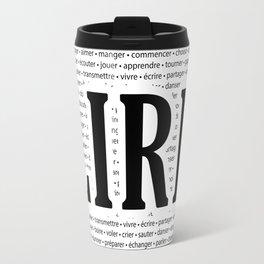 "Juste ""LIRE"" Travel Mug"