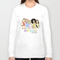 spice girls Long Sleeve T-shirts featuring spice girls by MeganBell