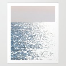 Sea reflections Art Print