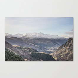 Queenstown Mountains Canvas Print