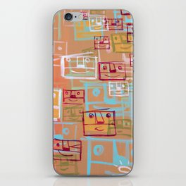 Many Faces iPhone Skin