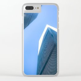 Twin Towers 09/07/2001 Clear iPhone Case