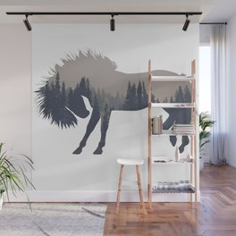 Woodland Horse Wall Mural
