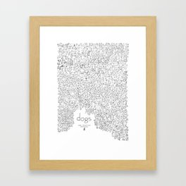 """dogs"" Framed Art Print"