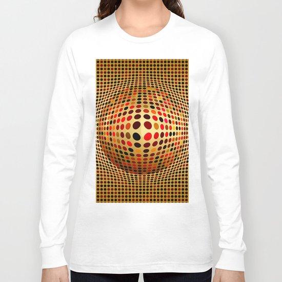 Ball illusion art Long Sleeve T-shirt