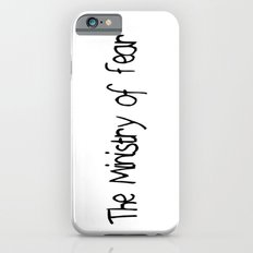 The Ministry of Fear iPhone 6s Slim Case
