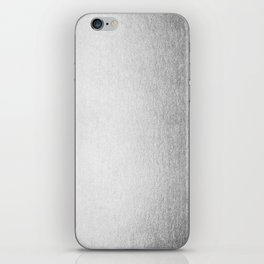 Moonlight Silver iPhone Skin