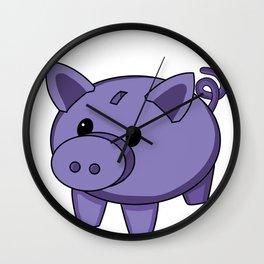 Piggy Bank Wall Clock