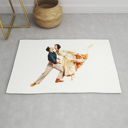 Gene Kelly and Cyd Charisse - Brigadoon Rug