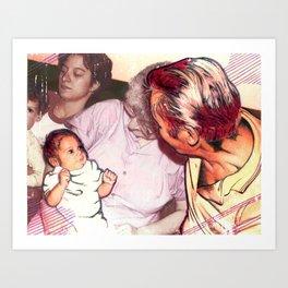 3 Generations Art Print