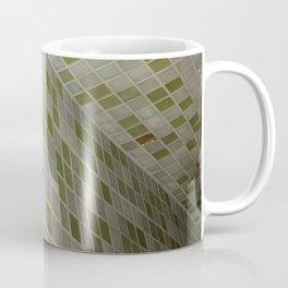 Green Squares. Fashion Textures Coffee Mug