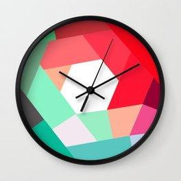 KOLOR crazy magenta Wall Clock