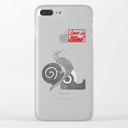 Love is bind Clear iPhone Case