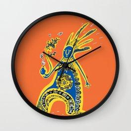 Rasta Shaman Wall Clock