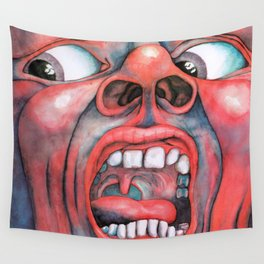 In the Court of the Crimson King Wall Tapestry