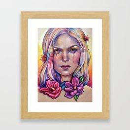 Overdose Chromatique Framed Art Print