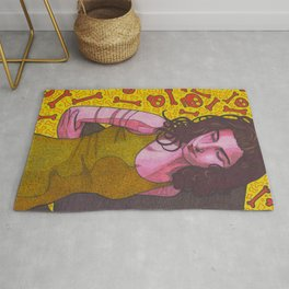 Polly Jean and Ghosts Rug