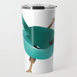 Little Blue Bird Travel Mug