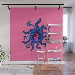 Are you ill? Check your Germs! Tentacle Wall Mural