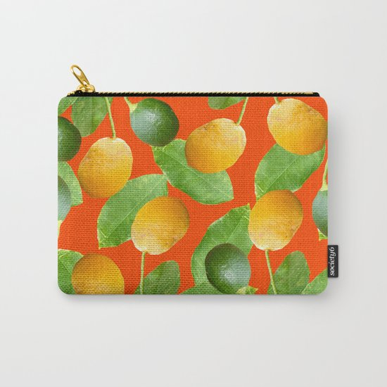 Lemons and Limes Carry-All Pouch