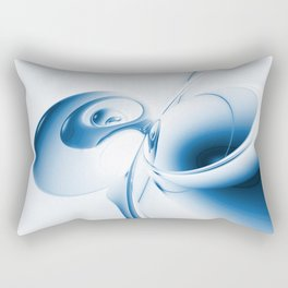 Schmetterling abstrakt - butterfly abstract Rectangular Pillow