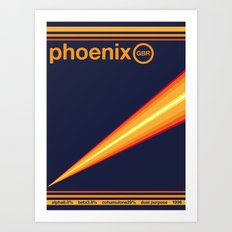 phoenix single hop Art Print
