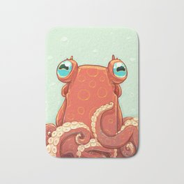 Goldie the Octopus Bath Mat