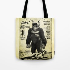 Robot Monster Tote Bag
