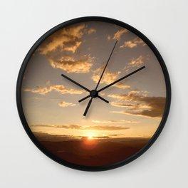 Kelowna Sunset Wall Clock