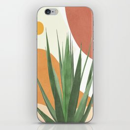 Abstract Agave Plant iPhone Skin