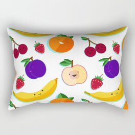 happy fruits and berries Rectangular Pillow