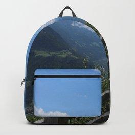 Alpine Landscape Near Meran Backpack