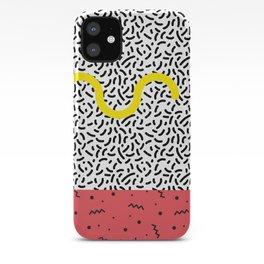 Memphis Style N°1 iPhone Case
