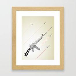 The Ammunition of War Framed Art Print