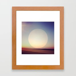 Artificial Sun Framed Art Print