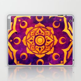 """""""Witchcraft""""  WATERCOLOR MANDALA (HAND PAINTED) BY ILSE QUEZADA Laptop & iPad Skin"""