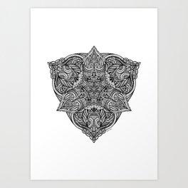 Sheild Art Print