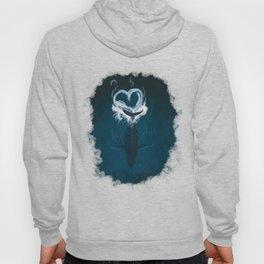 Whale Heart Splash Hoody