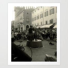 Ferrara (buskers festival) Art Print