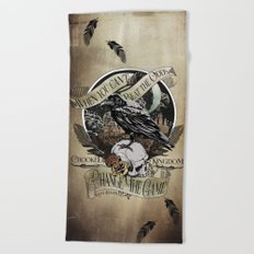 Crooked Kingdom - Change The Game Beach Towel