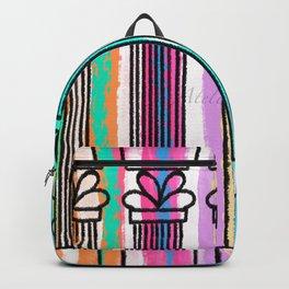 Corinthian columns - artprint Backpack
