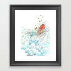Feather Bed Framed Art Print