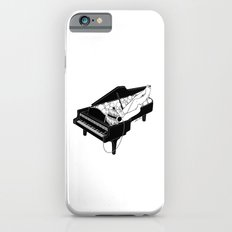 Turn on the music, Turn off your mind iPhone 6s Slim Case