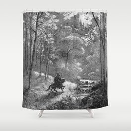 Don Quijote Shower Curtain