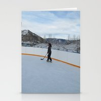 skate Stationery Cards featuring skate  by smilingbug